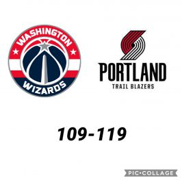 Baloncesto.NBA. Washington Wizards vs Portland Trail Blazers
