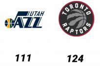 Baloncesto.NBA. Utah Jazz vs Toronto Raptors