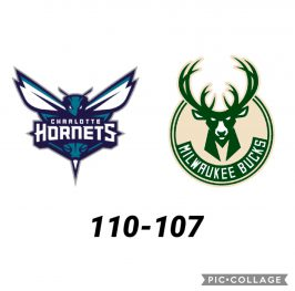 Baloncesto.NBA.Charlotte Hornets vs Milwaukee Bucks