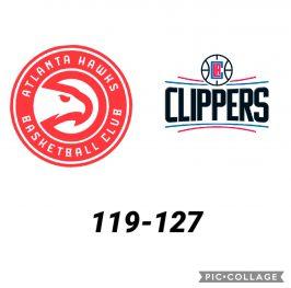 Baloncesto.NBA. Atlanta Hawks vs Los Angeles Clippers