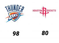 Baloncesto.NBA.Oklahoma City Thunder vs Houston Rockets
