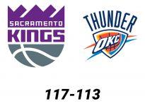 Baloncesto.NBA. Sacramento Kings vs Oklahoma City Thunder