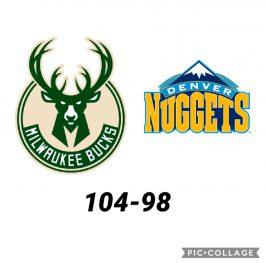 Baloncesto.NBA. Milwaukee Bucks vs Denver Nuggets