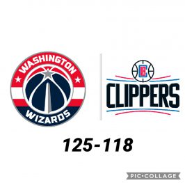 Baloncesto.NBA.Washington Wizards vs Los Angeles Clippers
