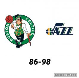 Baloncesto.NBA.Boston Celtics vs Utah Jazz