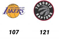 Baloncesto.NBA. Los Angeles Lakers vs Toronto Raptors