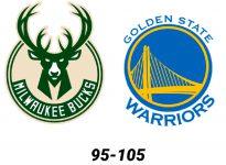 Baloncesto.NBA Milwaukee Bucks vs Golden State Warriors