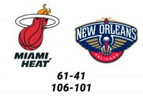 Baloncesto.NBA.Miami Heat vs New Orleans Pelicans