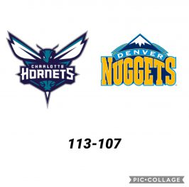 Baloncesto.NBA. Charlotte Hornets vs Denver Nuggets