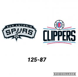 Baloncesto.NBA. San Antonio Spurs vs Los Angeles Clippers
