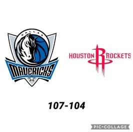 Baloncesto.NBA. Dallas Mavericks vs Houston Rockets