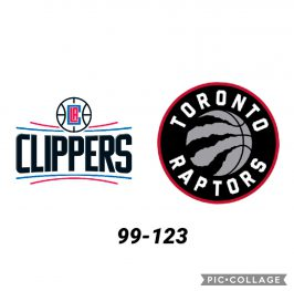 Baloncesto.NBA. Los Ángeles Clippers vs Toronto Raptors