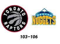 Baloncesto.NBA. Toronto Raptors vs Denver Nuggets