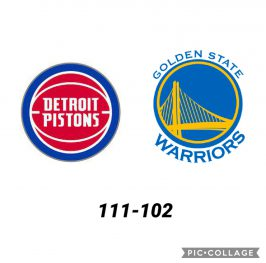 Baloncesto.NBA.Detroit Pistons vs Golden State Warriors