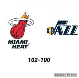 Baloncesto.NBA. Miami Heat vs Utah Jazz