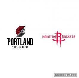 Baloncesto.NBA. Portland Trail Blazers vs Houston Rockets