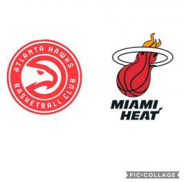 Baloncesto.NBA. Atlanta Hawks vs Miami Heat