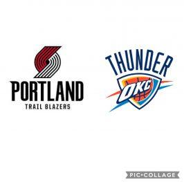 Baloncesto.NBA. Portland Trail Blazers vs Oklahoma City Thunder